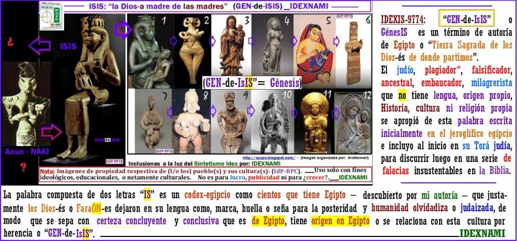 GEN-de-IsIS=Genesis- autor-idexnami