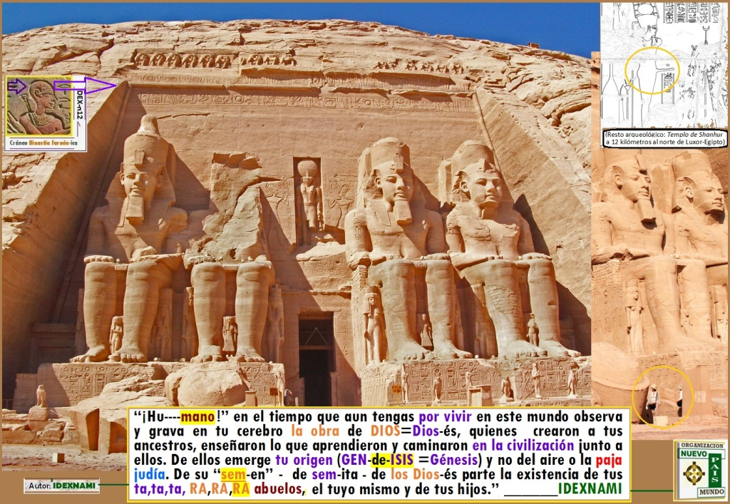 Abu-simbel la Tierra Sagrada de los Dios-és - IDEXNAMI