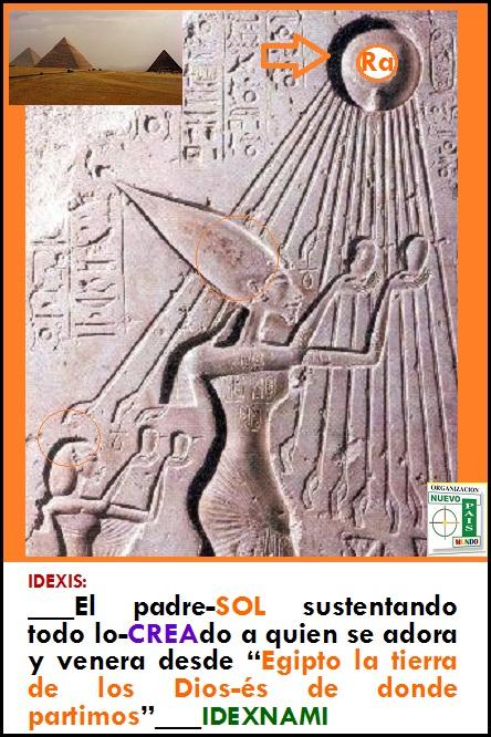 Ra Padre y dador de vida - EGIPTO - tierra de los Dios-es - IDEXNAMI
