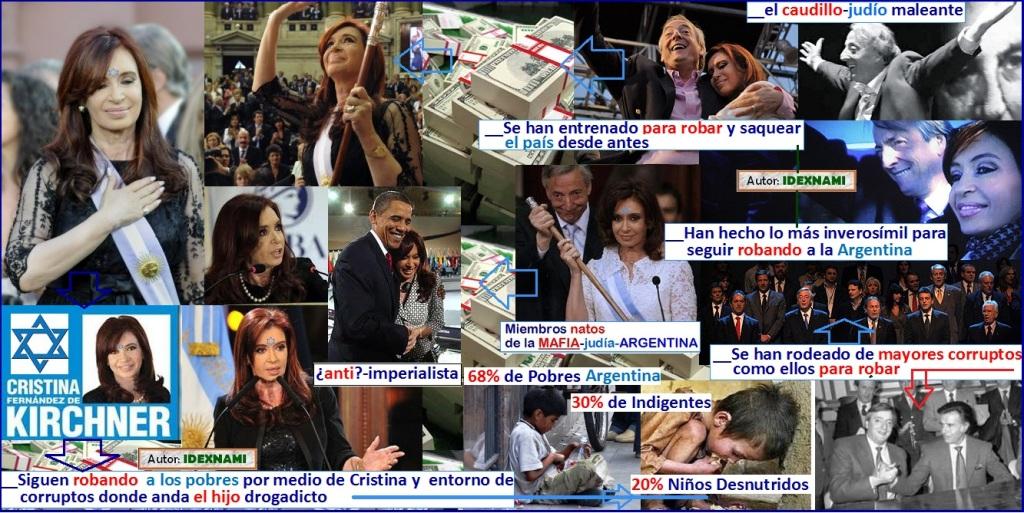 Cristina-Fernandez-de-Kirchner la maleontosa sigue robando - IDEXNAMI