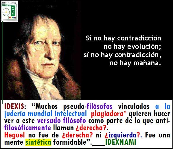 Hegel una mente sintética excepcional-IDEXNAMI