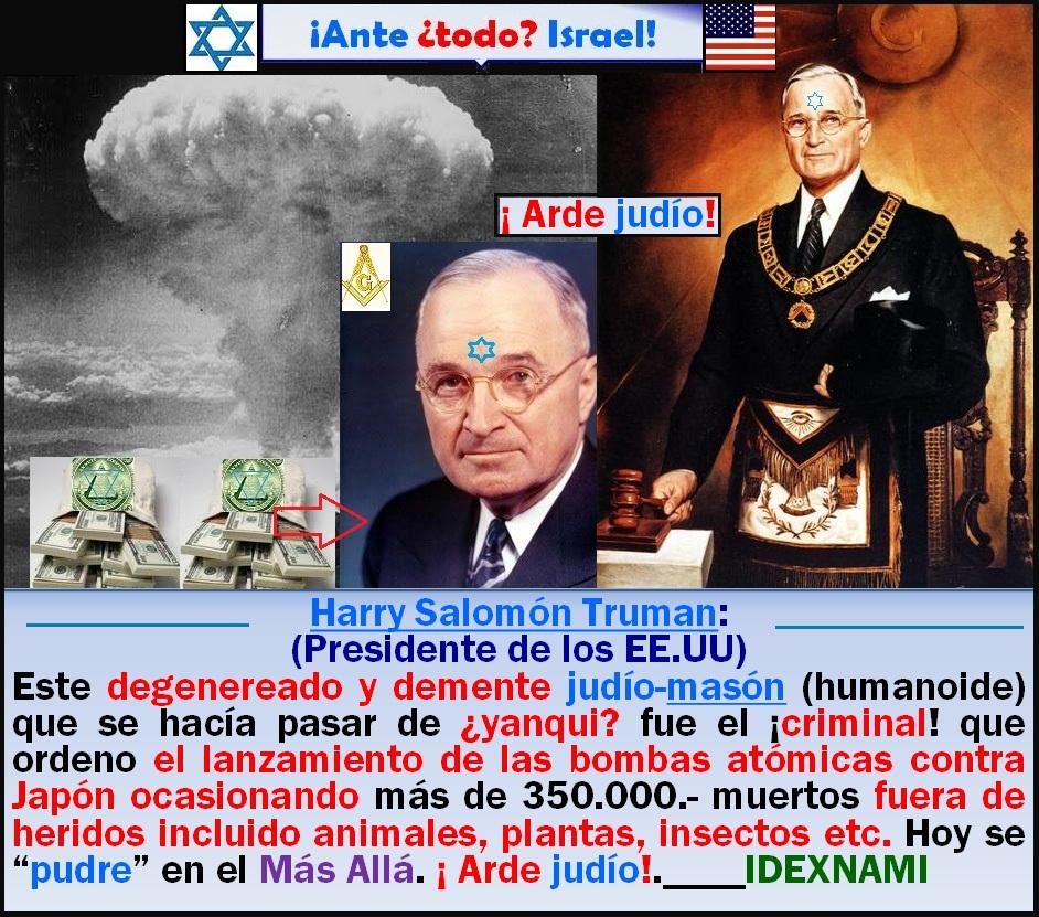 Harry-Truman-un-judio-yanqui-humamoide