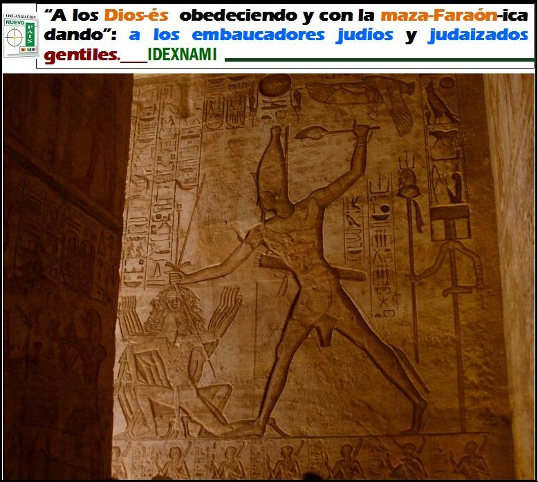 Ramses en la batralla de Kadech - Con la maza dando - IDEXNAMI