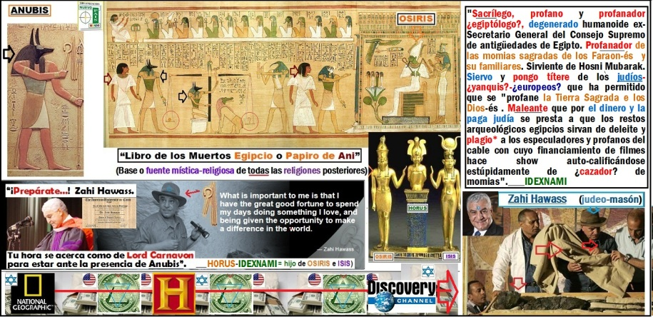 Zahi-Hawass- sacrilego-y-profano-egiptologo - IDEXNAMI