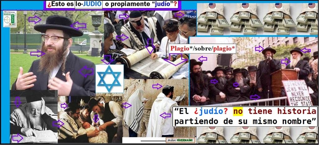 Esto es judio o propiamente judio -PLAGIO sobre plagio - IDEXNAMI