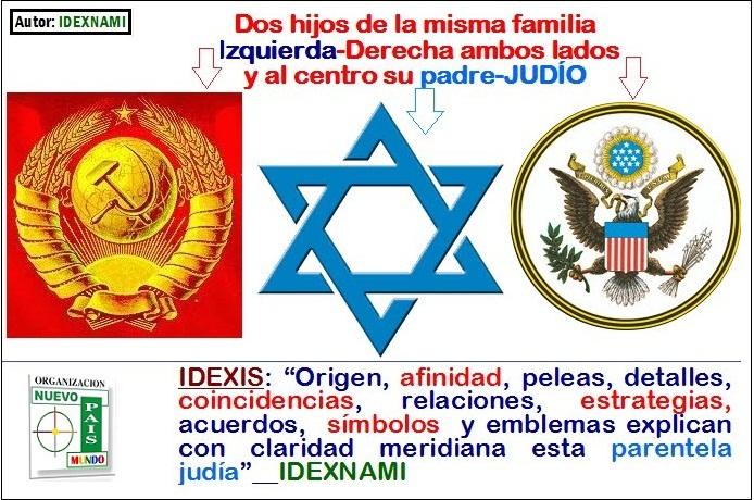 Los DOS hijos sirven a su mismo  padre  judio - IDEXNAMI-a