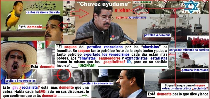 Demente-MaduroPROSIGUEmayorsaqueoestatistadelpetroleovenezol