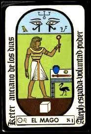 El Sacerdote o Mago de Egipto
