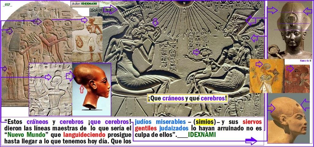 Familia-de-los-Dios-es-y-sus-cerebros-mesocefalos-en-egipto-2-idexnami